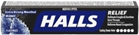 Halls Extra Strong 20/24g Sugg Ret $1.99