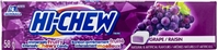 Hi Chew Grape Fruit Chews 12/58g Sugg Ret $1.99***PROMO Ret 2 for $3.33***