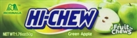Hi Chew Green Apple Fruit Chews 10/50g Sugg Ret $1.99***PROMO Ret 2 for $3.33***