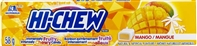 Hi Chew Mango Fruit Chews 12/58g Sugg Ret $1.99***PROMO Ret 2 for $3.33***