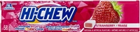 Hi Chew Strawberry Fruit Chews 12/58g Sugg Ret $1.99***PROMO Ret 2 for $3.33***