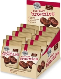 Homestyle 2-Bite Brownies 10/70g Sugg Ret $3.19