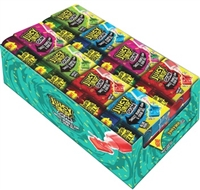 Juicy Drop Gum 2-n-1 Sour Gel and Bubblegum  16/70g Sugg Ret $3.49