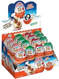 Chocolate Kinder Joy Surprise Egg 32/20g Sugg Retail $2.19