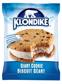 Klondike Sandwich Giant Cookie Ice Cream 24/200ml Sugg Ret $4.99