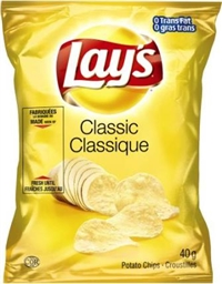 Lay's 40g Classic Potato Chip 40's Sugg Ret $1.50