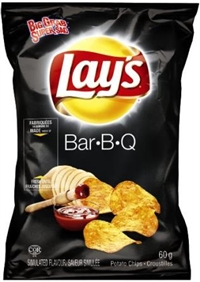 Lay's 60g BBQ Potato Chip 32's Sugg Ret $1.50
