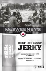 McSweeney's 125g Peppered Beef Jerky 10/ Sugg Ret $11.79