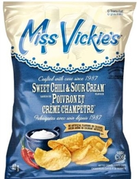 Miss Vickie's 40g Sweet Chili & Sour Cream Kettle Potato Chip 40's Sugg Ret $1.50
