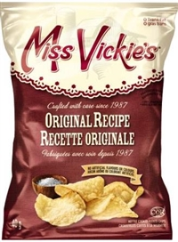 Miss Vickie's 40g Original Kettle Potato Chip 40's Sugg Ret $1.50