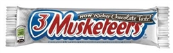 3 Musketeers Chocolate Bar 36 Sugg Ret $1.89