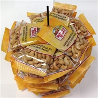 Nature's Bounty Cashews on a Display Pin Wheel 48/35g Sugg Ret 2.39
