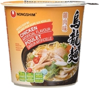 Nongshim Oolongmen Chicken Cup of Noodles 6/75g Sugg Ret $2.39
