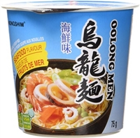 Nongshim Oolongmen Seafood Cup of Noodles 6/75g Sugg Ret $2.19