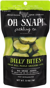 Oh Snap Dilly Bites 12/90ml Sugg Ret $2.89
