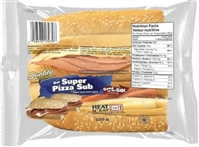 Quality Super Pizza Sub Sandwich 1/330g Sugg Ret $7.99