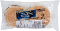 Quality Twin Bacon Cheeseburger 1/236g Sugg Ret $8.49