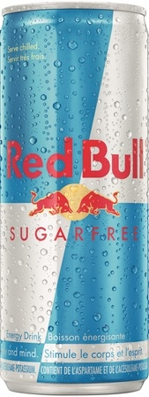 Red Bull 250 ml Sugar Free 24/250ml Sugg Ret $3.29