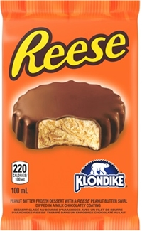 Reese Ice Cream Cup Bar 24/110ml Sugg Ret $3.69