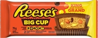 Reese  Big Cup Pieces Peanut Butter 16/79g Sugg Ret $2.59
