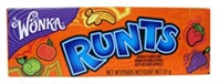 Runts Candy 24/51g Sugg Ret $1.89