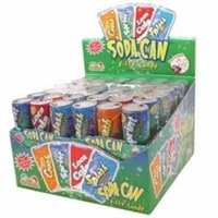 Soda Blasters Fizzy Candy 12/42g Sugg Ret $2.79