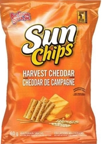 SunChips 60g Harvest Cheddar Big Grab 32's Sugg Ret $2.00