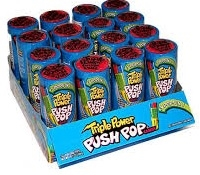 Push Pops Triple Power 16/ Sug Ret $3.39