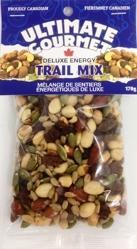 Ultimate Gourmet Header Bag Deluxe Energy Mix 12/170g Sugg Ret $3.99