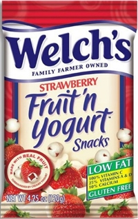 Welch's Strawberry Fruit 'n' Yogurt Snacks 12/140g Sugg Ret $3.89