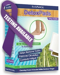 Add a 10 day (100 hrs) Supply of Detox Foot Pads!