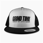 Snap Back Grind Time Hat - Black