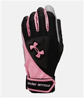 Under Armour Women's Laser II Softball Batting Glove 1200203-001