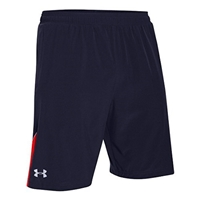 "Under Armour Men's Launch Stretch Woven 9"" Running Shorts 1252071-410 NAVY"