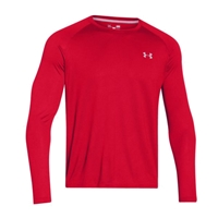 Under Armour Men's Tech Long Sleeve Tee - Red