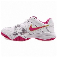 488327 102 Nike Trainers Shoes Kids City Court Vii