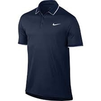 830849 410 Nike Mens Dry Tennis Polo T shirt