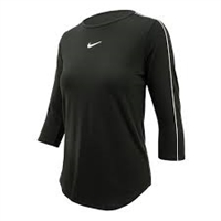 AQ7658-010 Nike Court 3/4 Sleeve Top