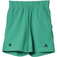 Adidas Boys Roland Garros Short- Core Green/Black