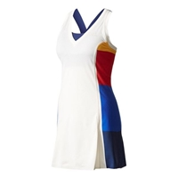 adidas New York Colorblock Dress Chalk White Womens BP5227