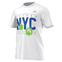 adidas Men's NYC Tennis Tee - White
