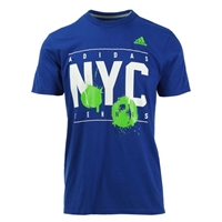 adidas Men's NYC Tennis Tee - Collegiate Royal