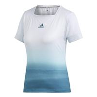adidas Parley Tee, White/Blue Spirit, 