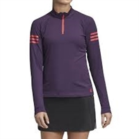 DP0277   Adidas Women's Club 1/4 Zip Midlayer Tennis Top