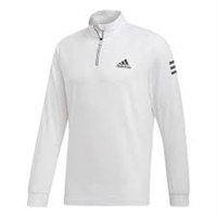 DP2879 Adidas Men's Club 1/4 Zip Midlayer Tennis Top