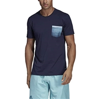 adidas Parley Pocket Tee, Legend Ink, DV2964