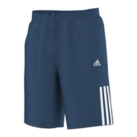 adidas Kids Boy's Response Bermuda (Little Kids/Big Kids) Tribe Blue/White Shorts