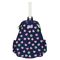 LLTBP164 Ame And Lulu Juniors` Little Love Tennis Backpack