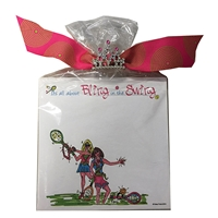 Tennis Bling in the Swing Notepad