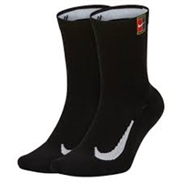 SK0118-010 Nike Court Multiplier Cushioned Tennis Crew Socks
